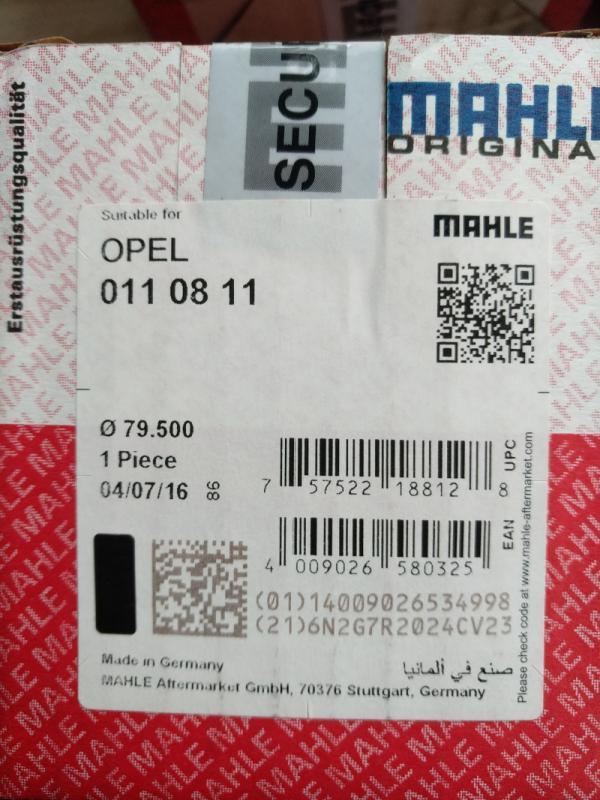 01108 11 MAHLE